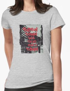 Born in the USA Womens Fitted T-Shirt