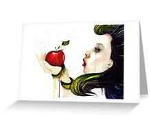 Eve and the Temptation Greeting Card