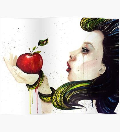 Eve and the Temptation Poster