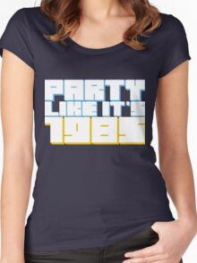 Party Like it's 1985 Women's Fitted Scoop T-Shirt
