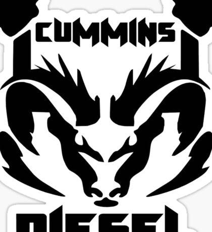 Cummins Diesel Sticker
