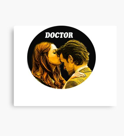 Serie tv Doctor Who Canvas Print