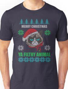 Merry Christmas Ya Filthy Animals Unisex T-Shirt
