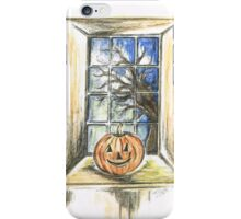 Halloween Night View iPhone Case/Skin