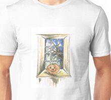 Halloween Night View Unisex T-Shirt