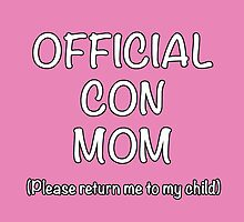Official Con Mom by NerdWolfie