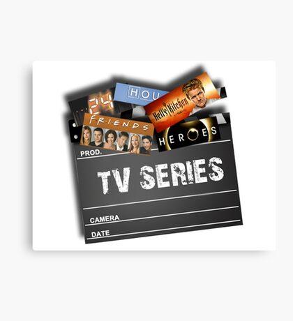 Series Tv Canvas Print