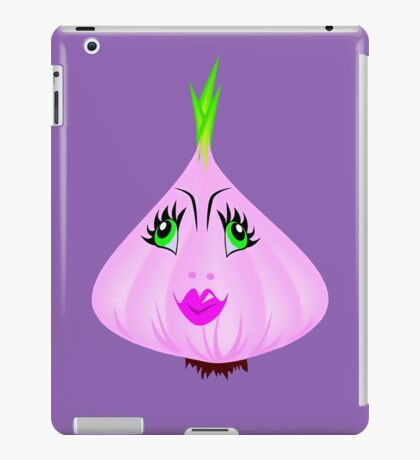 Girly Garlic iPad Case/Skin