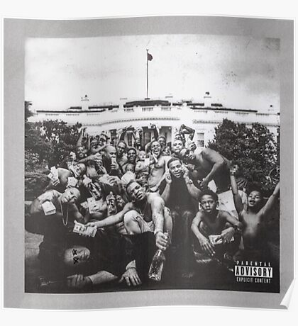 Kendrick Lamar - 'To Pimp A Butterfly' Album Cover Art Poster