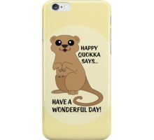 Happy Quokka iPhone Case/Skin