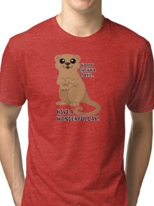 Happy Quokka Tri-blend T-Shirt