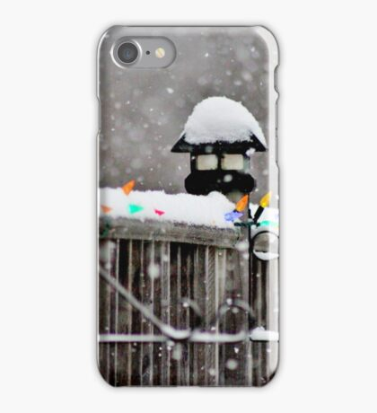 Just a Light Dusting iPhone Case/Skin