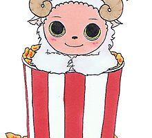 popcorn goat thigy wiggy by alicecloverpie