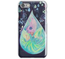 Raindrop fairy  iPhone Case/Skin