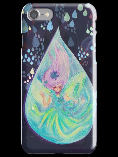 Raindrop fairy  by crysanthema