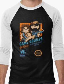 Game Grumps NES Cover Men's Baseball ¾ T-Shirt