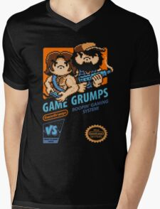 Game Grumps NES Cover Mens V-Neck T-Shirt