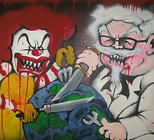 Ronald vs Colonel by Ross Hendrick