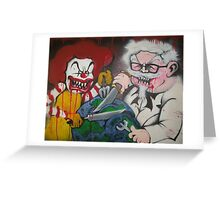 Ronald vs Colonel Greeting Card