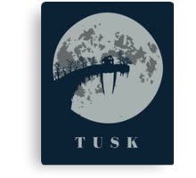Tusk Canvas Print