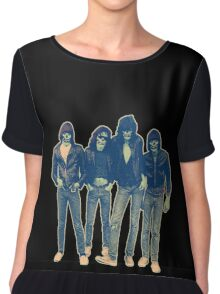 RAMONES ZOMBIES Chiffon Top