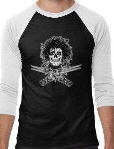 Shears Jolly Roger Men's Baseball ¾ T-Shirt