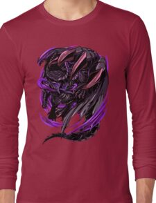 Black Eclipse Wyvern Long Sleeve T-Shirt