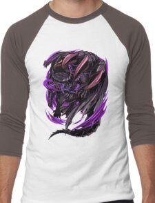 Black Eclipse Wyvern Men's Baseball ¾ T-Shirt