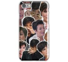 KRIS JENNER COLLAGE PHONE CASE iPhone Case/Skin