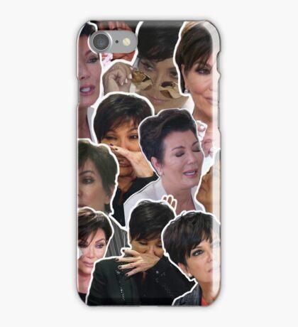KRIS JENNER COLLAGE PHONE CASE iPhone Case/Skin