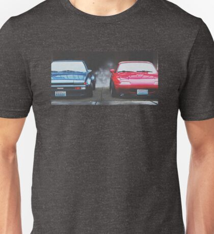 AE86 + Miata Unisex T-Shirt