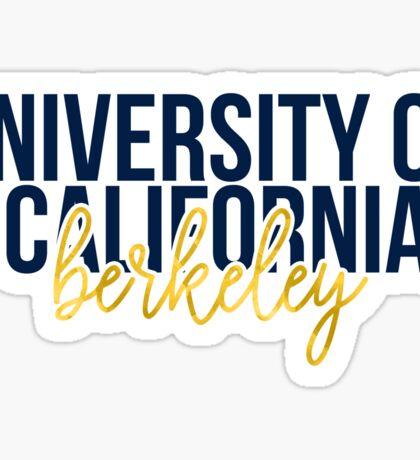 University of California - Berkeley - Style 13 Sticker