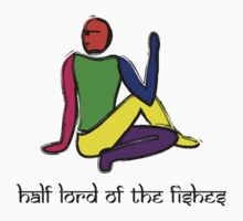 Half lord of the fishes yoga pose Sanskrit Kids Tee
