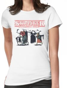 Stranger Stole My Bike Womens Fitted T-Shirt