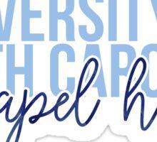 UNC Chapel Hill - Style 13 Sticker