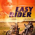 Easy Rider Movie Poster by Simon Gentleman