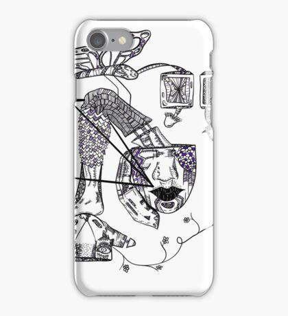 Out of my Mind iPhone Case/Skin