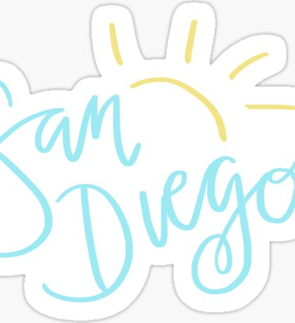 San Diego Sticker