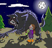 Fetch werewolf, fetch! by mrcbrn