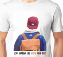 Skam - Isak's You Wanna Be High For This T-Shirt, Clothing and Acessories Unisex T-Shirt
