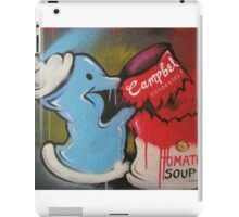 Spray can vs Campbell's Soup iPad Case/Skin