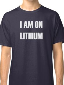 Lithium - white text Classic T-Shirt