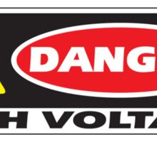 Danger - High Voltage Sticker