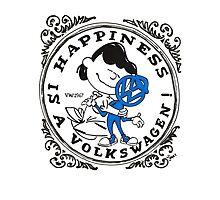 Happiness is having a Volkswagen Photographic Print