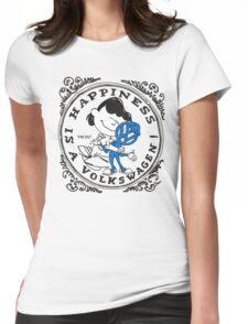 Happiness is having a Volkswagen Womens Fitted T-Shirt