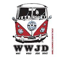 WWJD ? Photographic Print