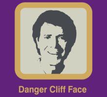 Danger - Cliff Face by Simon Williams