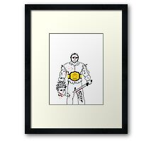 Jason Wins Framed Print