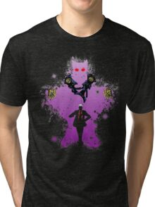 Yoshikage Kira Bite The Dust Tri-blend T-Shirt
