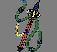 SERPENT & SWORD  by Charles  Perry